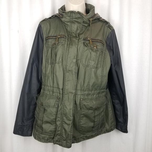 Michael Kors Jackets & Blazers - Michael Kors womens rain jacket size L green